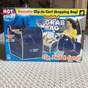 Handbags - Hot or cold reusable clip-to-cart Shopping Bag